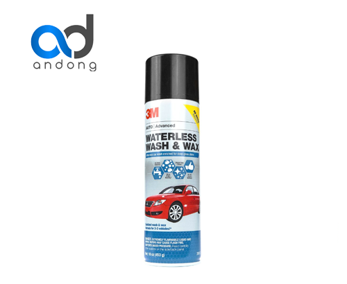 3M WATERLESS WASH & WAX 39110
